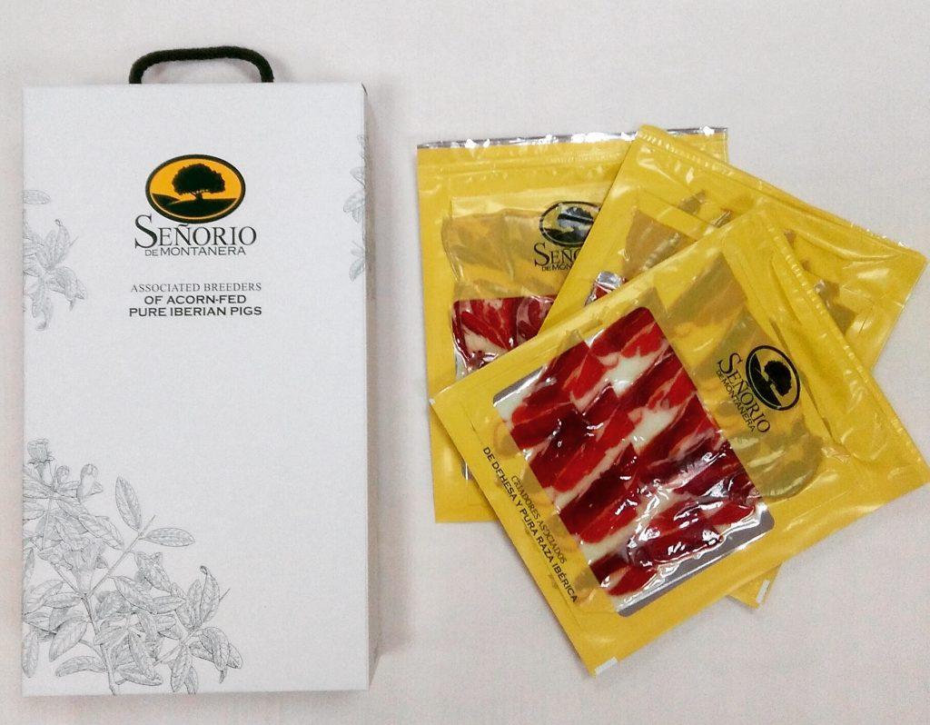 Sabores Señorío de Montanera, productos ibericos de bellota