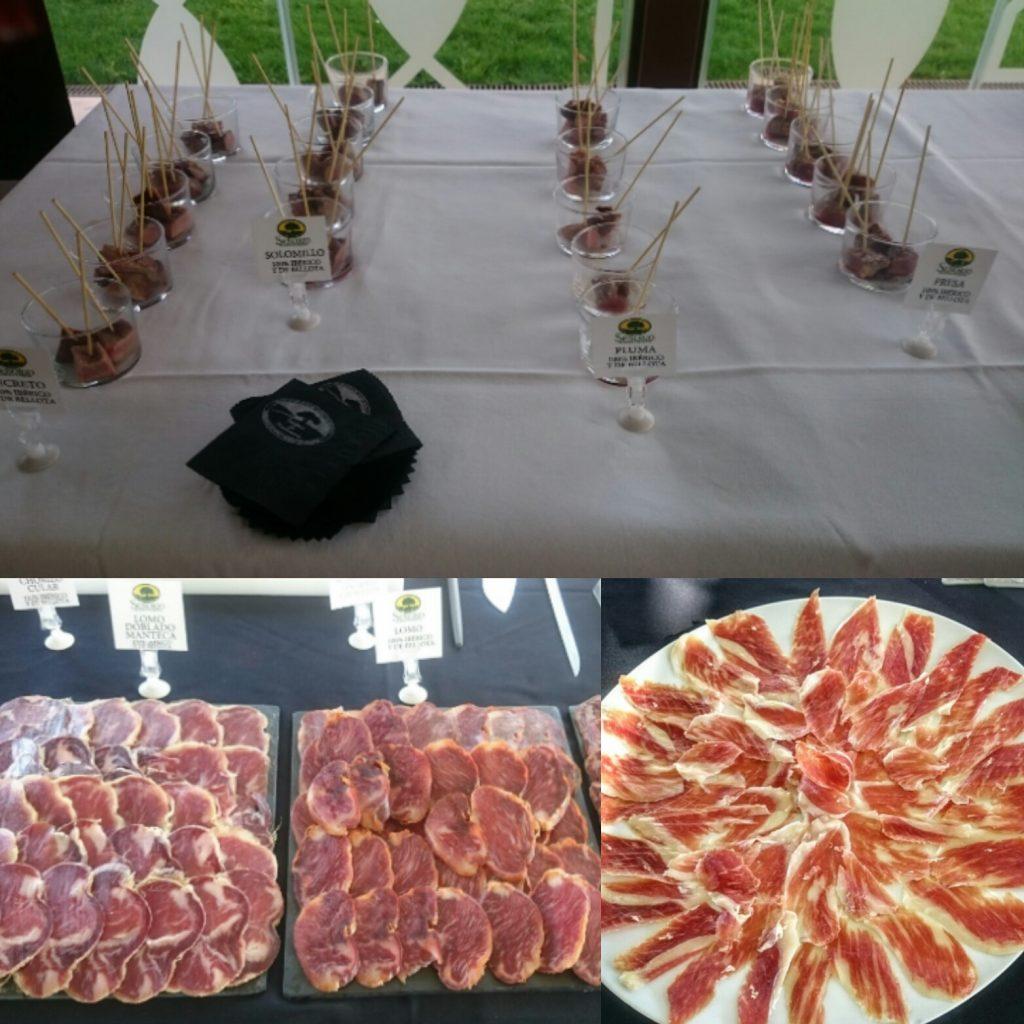 degusta productos ibéricos de bellota señorío de montanera