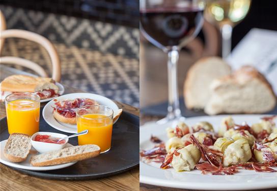 Desayunos,tapas raciones ibericas