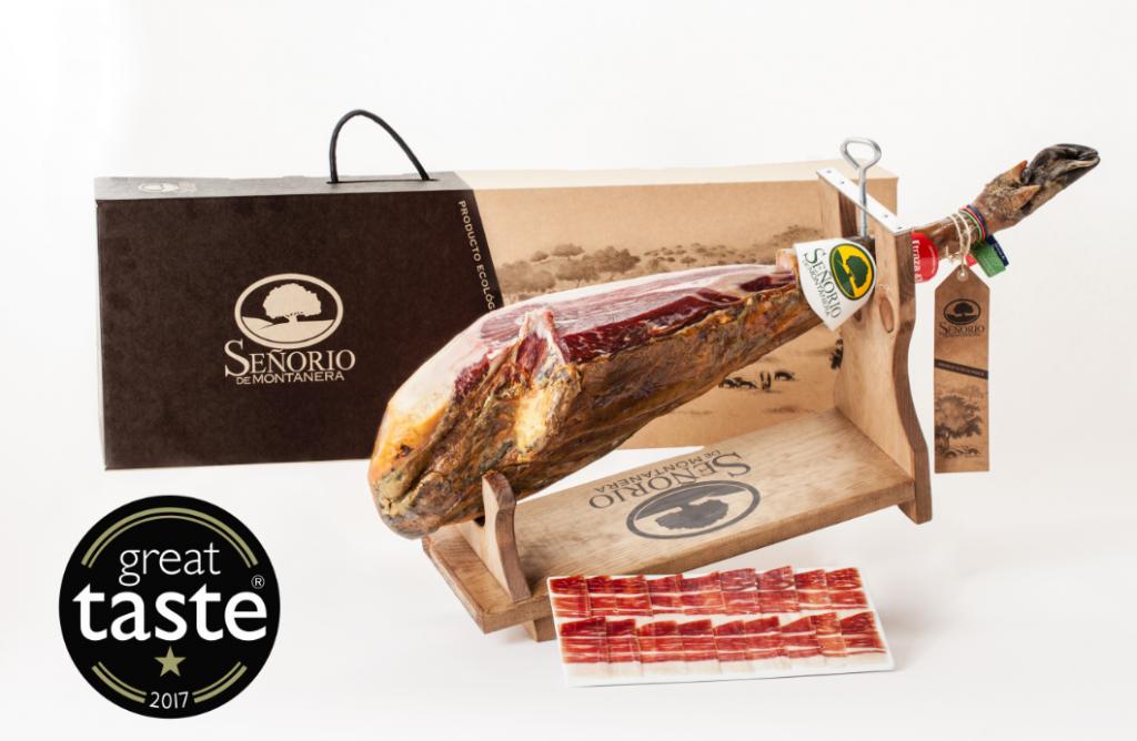 organic Iberian Ham