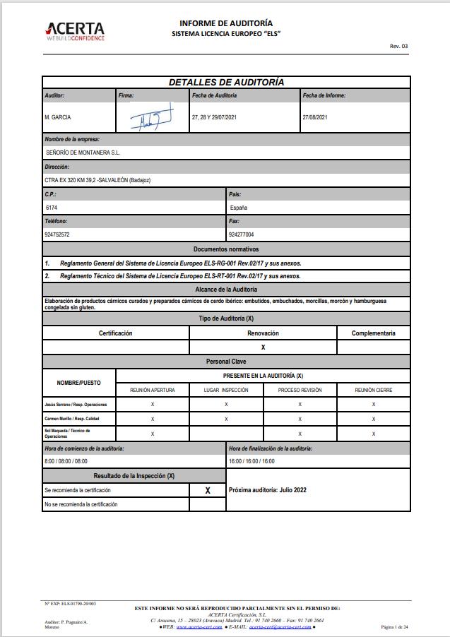 Certificado ELS senorio de montanera_2021