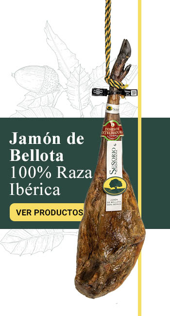 Jamón Ibérico de Bellota 100% raza ibérica