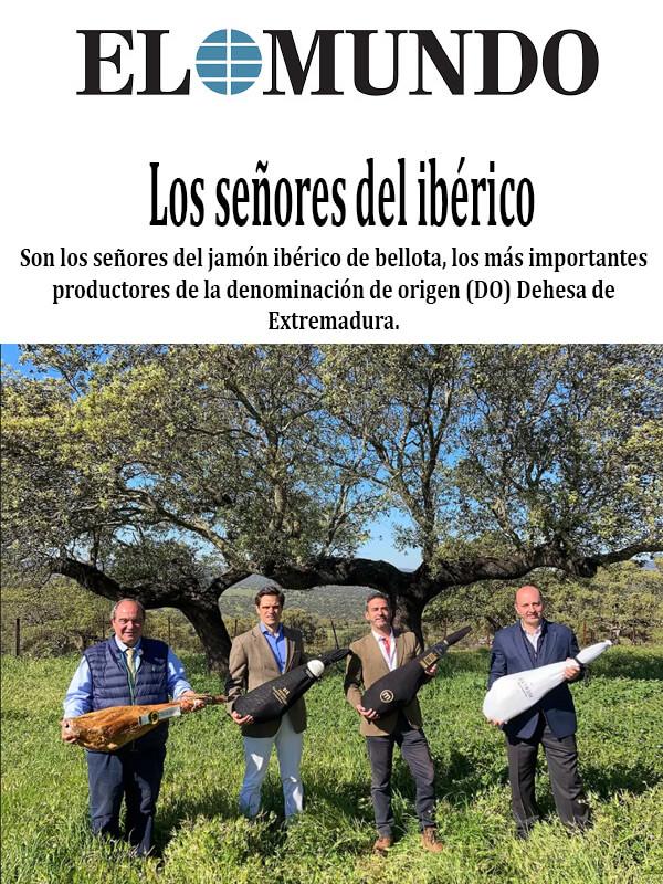 el mundo los señores del iberico