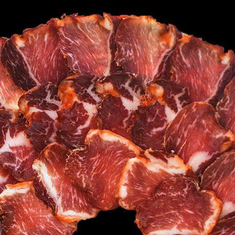 Lomo de bellota ibérico con denominacion de origen extremadura